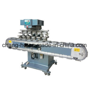 Automatic 6 Color Tank Belt Pad Printing Equipment pictures & photos