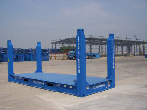 20′ Flat Rack Container pictures & photos