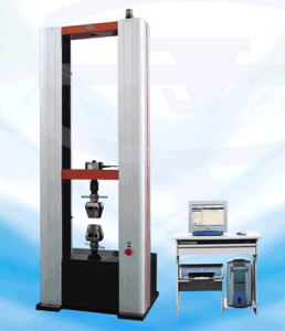 CE certified Electronic Universal Testing Machine TIME WDW-10E in metal and rubber & plastic industry pictures & photos