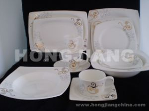 Bone China Dinner Set (HJ068004) pictures & photos