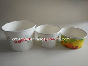 Custom Ice Cream Paper Cups, Yogurt Caps pictures & photos