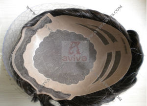 Human Hair Toupee (AV-TP10) pictures & photos