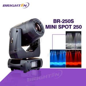 Mini 250W LED Spot Moving Head Stage Light pictures & photos