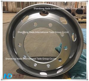 22.5X6.75 Tubeless Rim TBR Truck Steel Wheel with Ts16949/ISO9001: 2000 pictures & photos