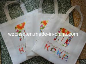 Customized Environmental Heat Transfer Printing Non Woven Garment Shopping Bag Al-12