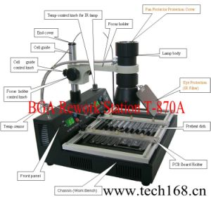 T870A Puhui BGA Rework Station, BGA Reballing Station, BGA Machine, Taian, Soldering Machine/Welder pictures & photos