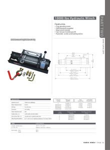 Hydraulic Winch (10000IBS)