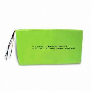 3.7V Rechargeable Lithium Polymer Battery Pack (3P1S) pictures & photos