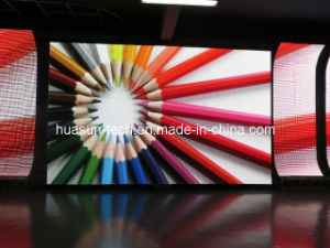 Foldble LED Curtain Display P6 pictures & photos