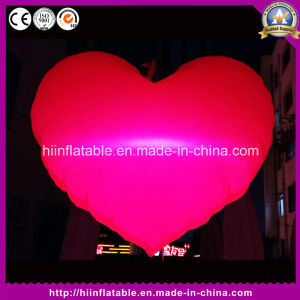 Hot Wedding Valentine Event Decoration Inflatable Red Heart