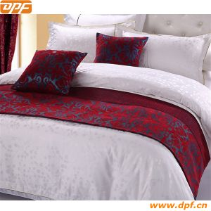 Hotel Decoration Polyester Bed Runner pictures & photos