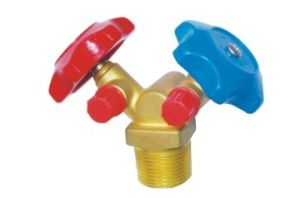 2-Side Steel Bottle (Safe Type) Refrigeration Valve