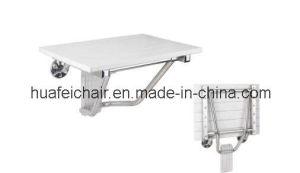 Plastic Wood Shower Seat (F-6)