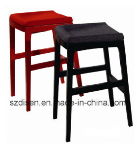 Wooden Counter Bar Stool (DS-L010) pictures & photos