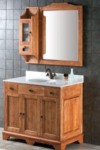 Solid Wood Bathroom Cabinet (MY-7438)