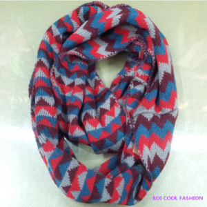Ladies Winter Fashion Acrylic Scarf pictures & photos