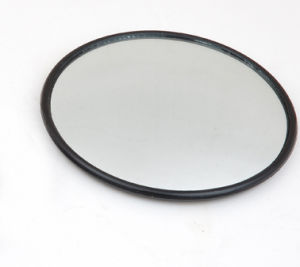 "CIPA 3 3/4"" HotSpots Round Stick-On Convex Mirror"