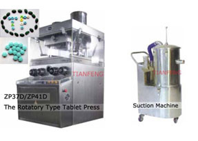 SGS Zp37D / Zp41d Rotary Tablet Press 2layers Tablet Press Machine pictures & photos