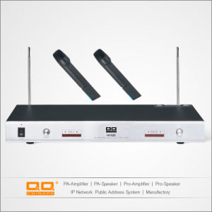 OEM Professional Two-Channel VHF Outdoor Detective Wireless Mini Condenser Microphone pictures & photos