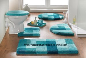 Bathroom  on Hot Microfiber Bath Mat 5pcs Set   China Microfiber Bath Mat  Bathmat