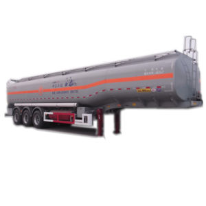 ISO CCC Approved 3 Axles 52 Cbm Chemical Tank Trailer pictures & photos