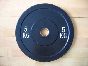 5KG Rubber Bumper Weight Plate pictures & photos