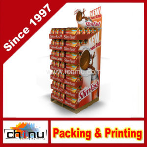 Cardboard Corrugated Pallet Rack Display (6125) pictures & photos