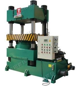 Four Column Type Hydraulic Blanking Press (TT-SZ500T) pictures & photos