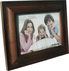 Table Top Wood Oak Photo Frame