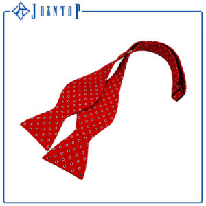 Custom Knitted Bow Tie Polyester Tie for Men pictures & photos