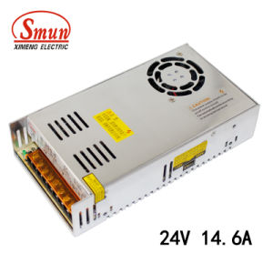 Smun S-350-24 24VDC 14.6A 350W SMPS Switch Mode Power Supply pictures & photos
