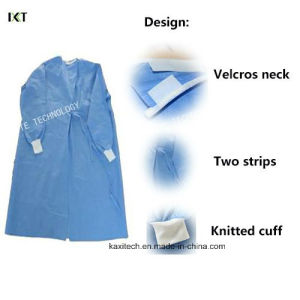 Nonwoven Waterproof Sterile Disposable Medical Surgical Gowns pictures & photos