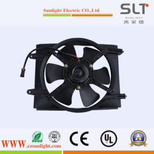 12V 80W Condenser Radiator Double Blades Axial Fan pictures & photos