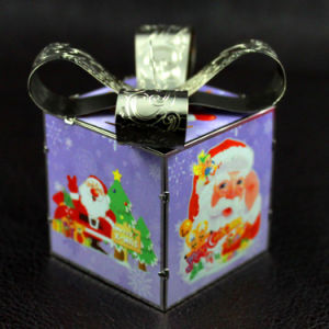 3D Gold Silver Metal Craft Xmas Ornament Accessories pictures & photos