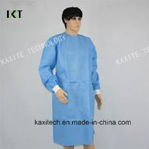 Disposable Non Woven Surgeon Isolation Medical Gown Dressing Supplier Kxt-Sg24 pictures & photos