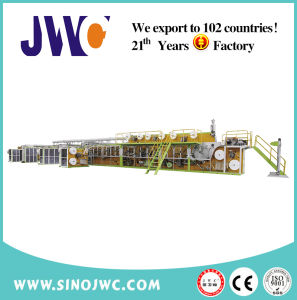 Semi Servo Disposable Pull up Baby Diaper Machine (jwc-Llk400) pictures & photos