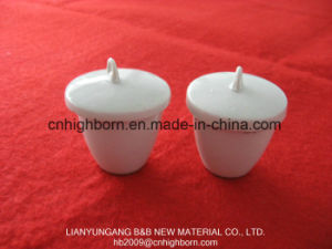 Top Selling Refractory Glazing Porcelain Crucible for Laboratory pictures & photos