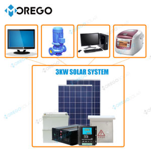 Morego PV Solar Power System 3kw for Home Use pictures & photos