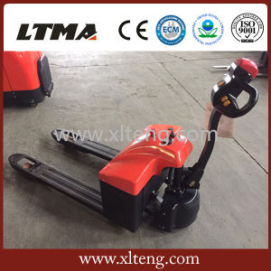 Warehouse Equipmet 1.5t Mini Battery Pallet Truck Price pictures & photos