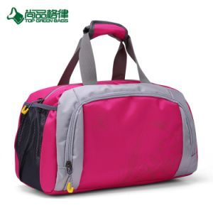 Custom Double Zipper Travel Duffel Bags Gym Sports Bag for Luggage pictures & photos