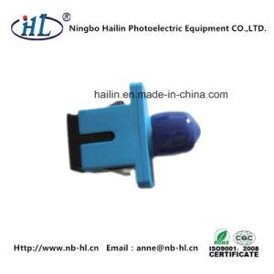 Sc-FC/Sm/PC Plastic Fiber Optic Adapter for Fip Fiber Interface Panel pictures & photos