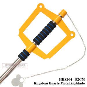 Kingdom Hearts Sora Kingdom Key Cosplay Prop HK8264 pictures & photos