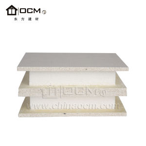 High Strength, with Tight Connection XPS MGO Sandwich Panel pictures & photos