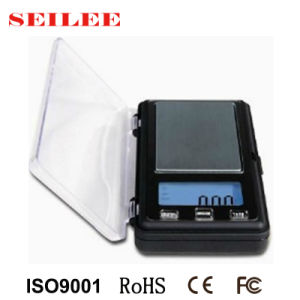 Mini&Nbsp; Electronic Jewelry Pocket Weighing Scale pictures & photos