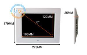 China Shenzhen HD LCD Digital Picture Frame 8 Inch with WiFi Wireless 3G 4G (MW-087WDPF) pictures & photos