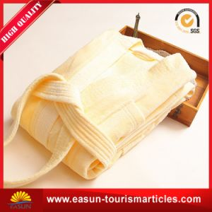 Custom Egyptian Cotton Bathrobe Set pictures & photos