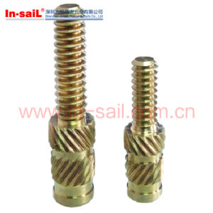Brass Cylindrical Knurled Body Straight Machinery Pins pictures & photos