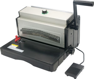 Double Wire Binding Machine (YD-WM703E) pictures & photos