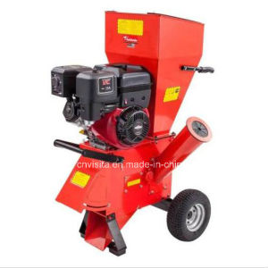 6.5HP Gasoline Powered Wood Chipping Machine pictures & photos