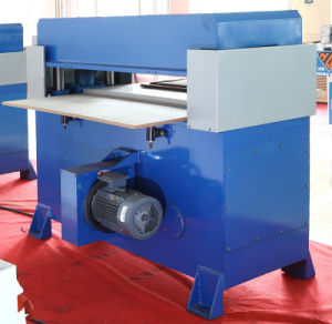 Hydraulic Perforated Plastic Sheet Press Cutting Machine (HG-B40T) pictures & photos